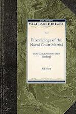 Proceedings of the Naval Court Martial af United States Navy Department
