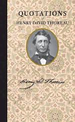 Quotations of Henry David Thoreau