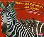 Zebras and Oxpeckers Work Together (Pebble Plus: Animals Working Together)