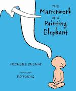 Masterwork of a Painting Elephant af Michelle Cuevas