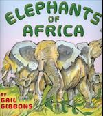 Elephants of Africa (4 Paperback/1 CD) [With CD (Audio)]