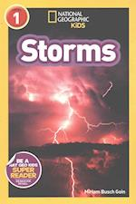 Storms (National Geographic Kids Readers Level 1)