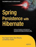 Spring Persistence with Hibernate (The Expert's Voice In Open Source)