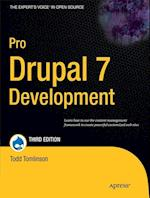 Pro Drupal 7 Development (The Expert's Voice In Open Source)