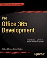 Pro Office 365 Development af Mark Collins