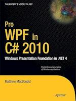 Pro WPF in C# 2010 (Expert's Voice in .net)
