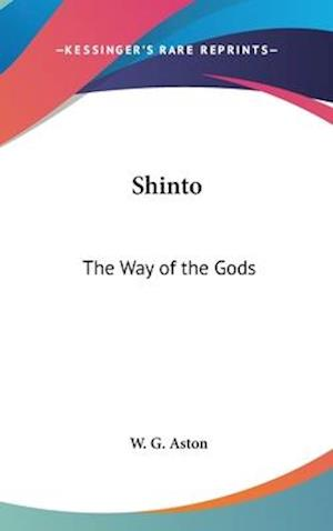 Bog, hardback Shinto af W. G. Aston