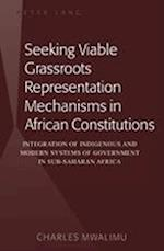 Seeking Viable Grassroots Representation Mechanisms in African Constitutions
