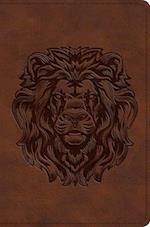 ESV Compact Bible (Trutone, Royal Lion)