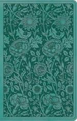 ESV Premium Gift Bible (Trutone, Teal, Floral Design)