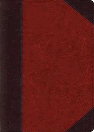 ESV Study Bible, Large Print (Trutone, Brown/Cordovan, Portfolio Design)