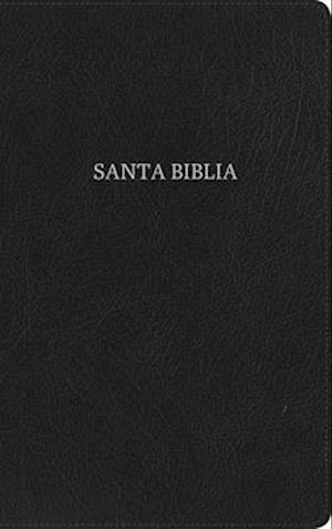 Rvr 1960 Biblia Ultrafina, Negro Piel Fabricada Con Índice