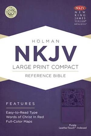 Ukendt format NKJV Large Print Compact Reference Bible, Purple Leathertouch, Indexed