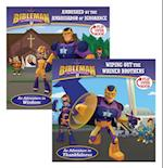Ambushed by the Ambassador of Ignorance/Wiping Out the Whiner Brothers (Bibleman)