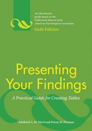 Presenting Your Findings