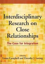 Interdisciplinary Research on Close Relationships
