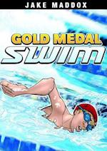 Gold Medal Swim (Jake Maddox)