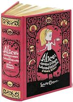 Alice's Adventures in Wonderland & Other Stories (Barnes & Noble Omnibus Leatherbound Classics) (Barnes & Noble Leatherbound Classics)