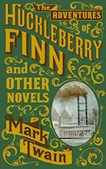 Adventures of Huckleberry Finn and Other Novels (Barnes & Noble Omnibus Leatherbound Classics) af Mark Twain
