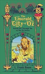 The Emerald City of Oz (Barnes Noble Leatherbound Classic Collection)