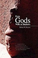 Even Gods Walk in Shadows af Robert W. Proctor