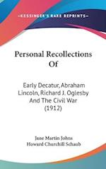 Personal Recollections of af Jane Martin Johns