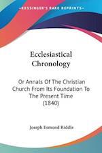 Ecclesiastical Chronology