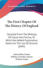 The First Chapter of the History of England