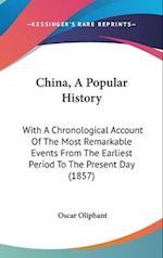 China, a Popular History