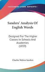 Sanders' Analysis Of English Words