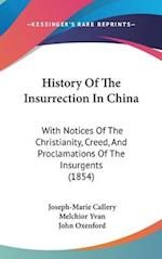 History Of The Insurrection In China