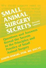 Small Animal Surgery Secrets (Secrets)