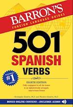 501 Spanish Verbs (Barron's foreign language verbs)