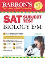 Barron's SAT Subject Test Biology E/M, 6th Edition