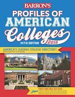 Barron's Profiles of American Colleges 2018 (BARRON'S PROFILES OF AMERICAN COLLEGES)
