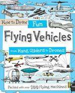 How to Draw Fun Flying Vehicles (How to Draw)