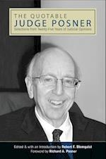 The Quotable Judge Posner (Suny Series in American Constitutionalism)