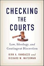 Checking the Courts (Suny Series in American Constitutionalism)