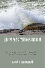 Whitehead's Religious Thought