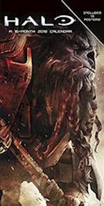 Halo Poster 2018 Calendar