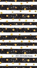 Gold Dots 2018 Pocket Planner