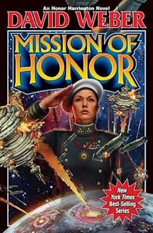 Bog, hardback Mission of Honor af David Weber