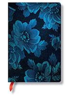 Blue Muse Mini Lined Notebook af Hartely and Marks