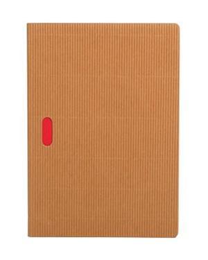 Paper Oh Cahier Ondulo Natural / Natural A5 Grid