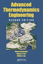 Advanced Thermodynamics Engineering (CRC Series in Computational Mechanics And Applied Analysis)