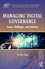 Managing Digital Governance (Aspa Series in Public Administration and Public Policy)