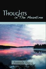 Thoughts in the Meantime af Evans Amanda Evans, Amanda Evans