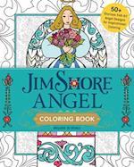 Jim Shore's Angel Coloring Book
