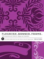Flourish.  Banner.  Frame.
