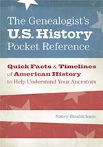 Genealogist's U.S. History Pocket Reference af Nancy Hendrickson